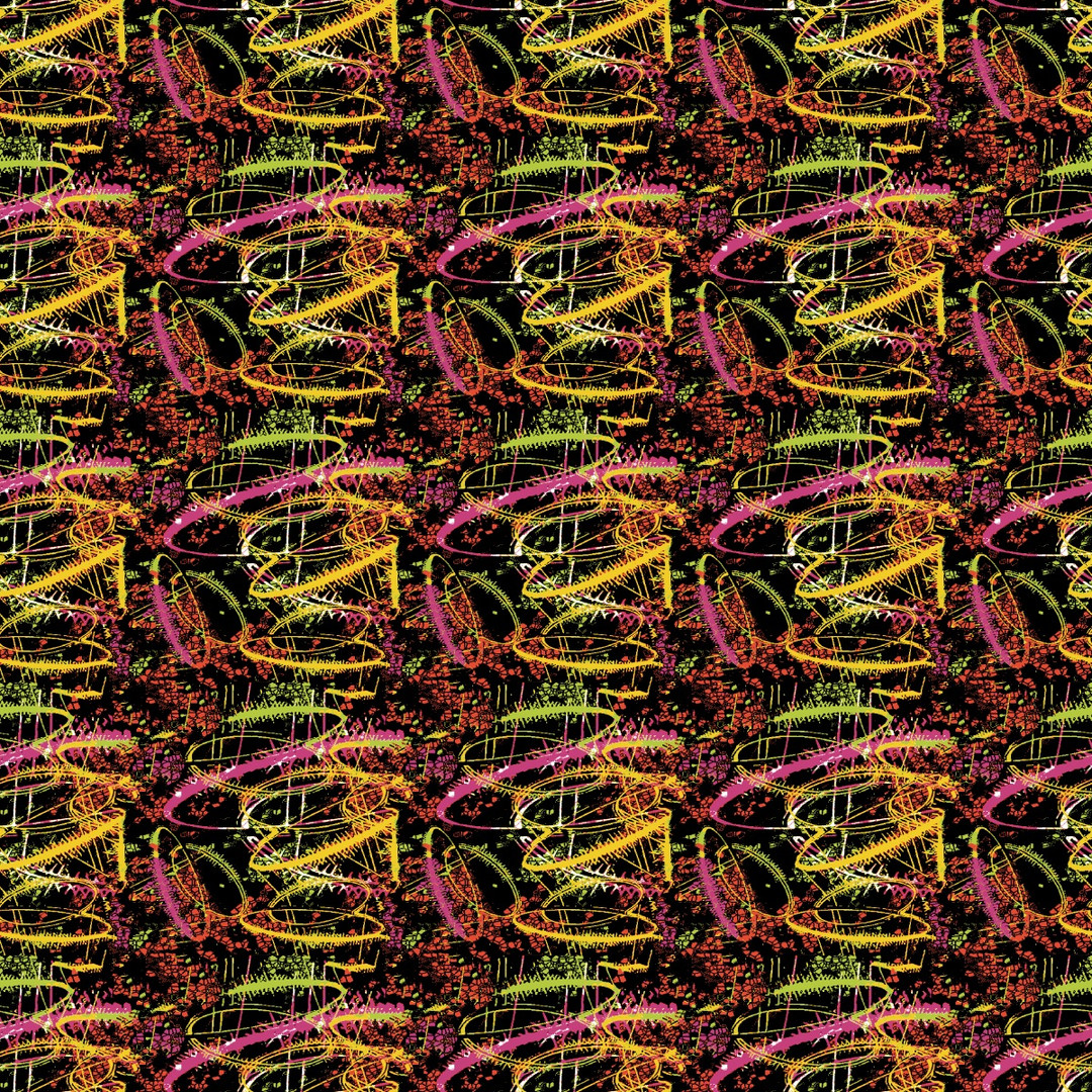 Neon repeating pattern