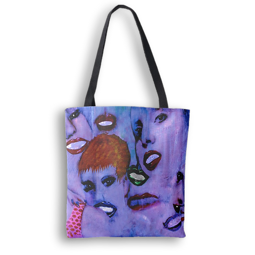 Off the wall: Unglamorous tote bag