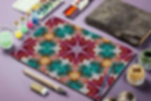 BoHo pattern, painting,