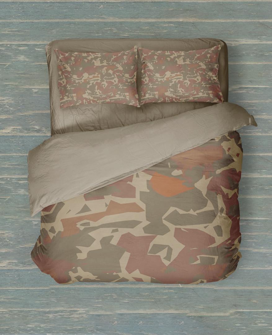 Desert camo bed set