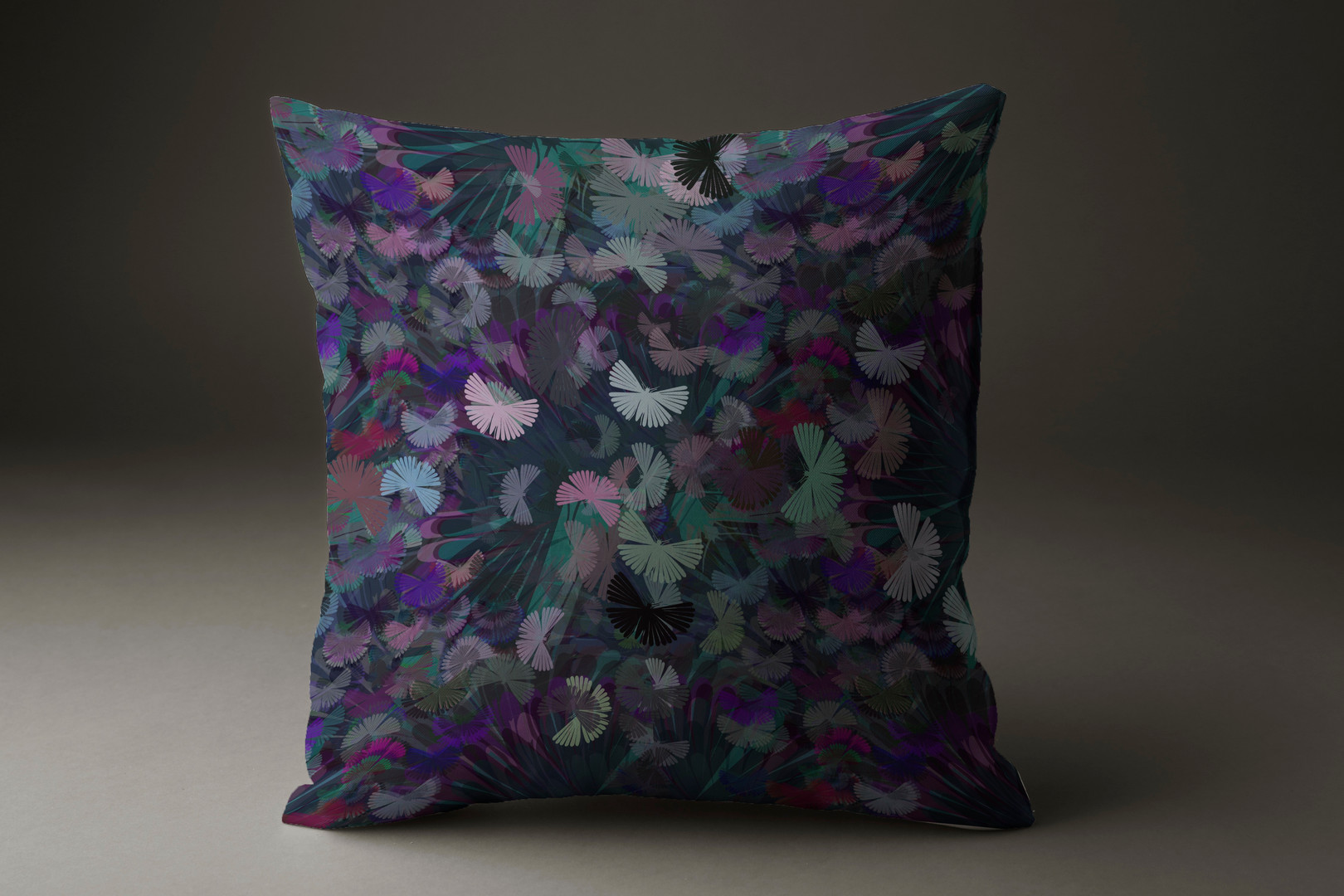 Mystical moths cushions