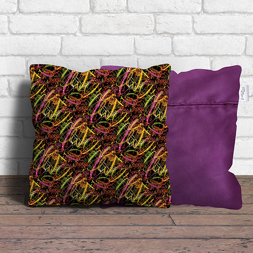 Neon cushion covers