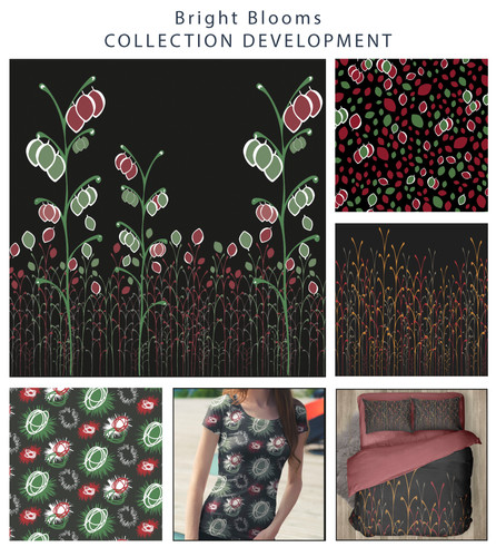 Bright blooms collection development