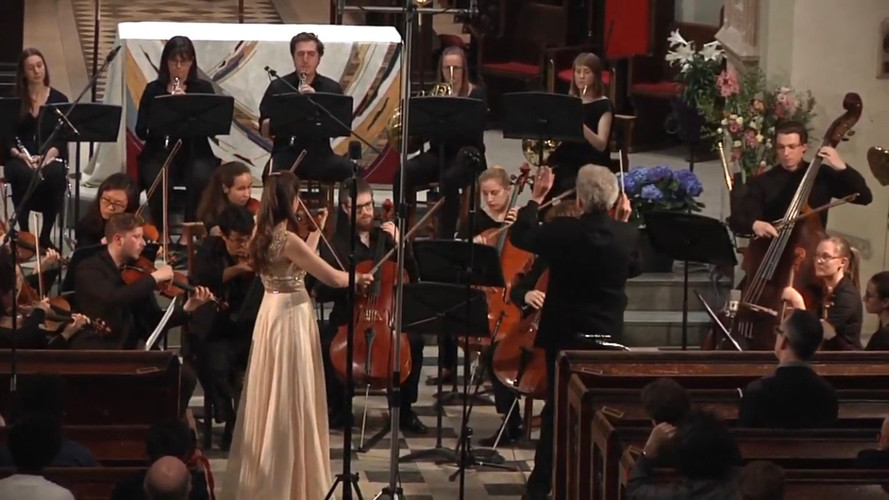 Mozart G Major Violin Concerto K.216