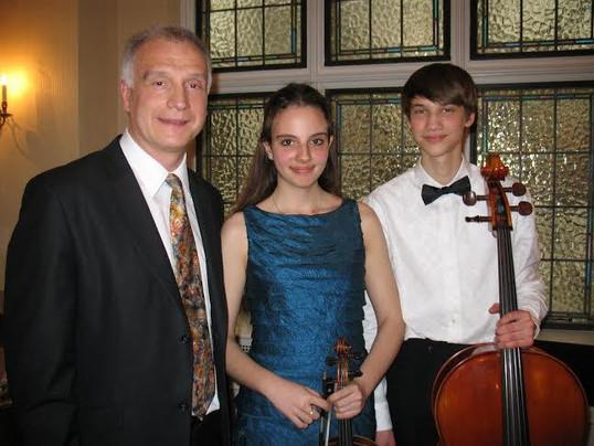 Concert at the Austrian Ambassador's home, Ottawa