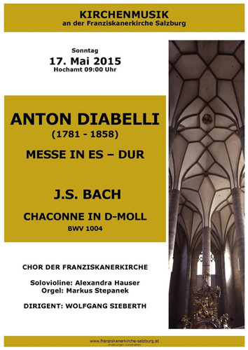 """J.S. Bach """"Chaconne"""" in D minor"""