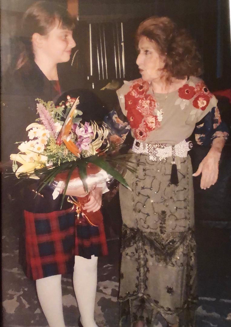 With the great Ida Haendel