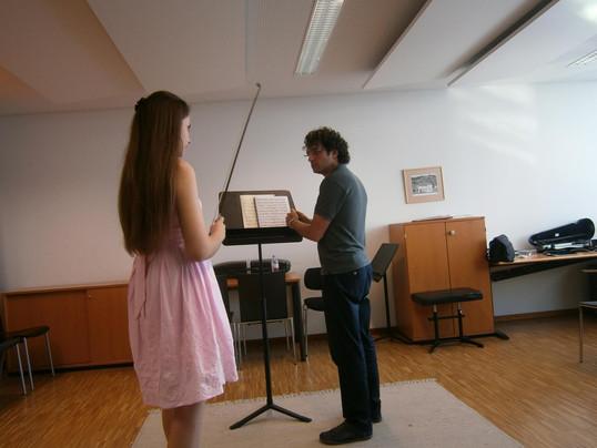 With Prof. Mauro Iurato