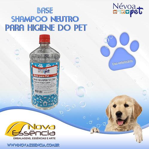 BASE PET SHAMPOO NEUTRO 1LITRO  CAO/ GATO- 330003