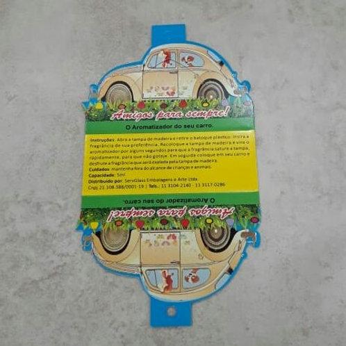 EMBALAGEM AROMATIZADOR DE  CARRO FEMININO - 290006F
