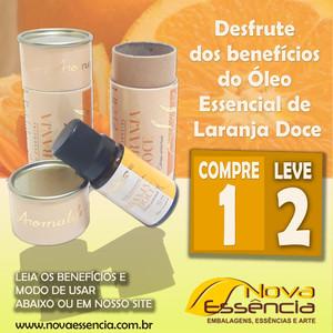 Desfrute dos benefícios do óleo essencial de laranja doce