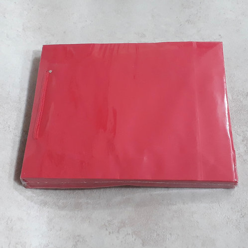 SACOLA SC3 VERMELHA PC.C/10 - 220106