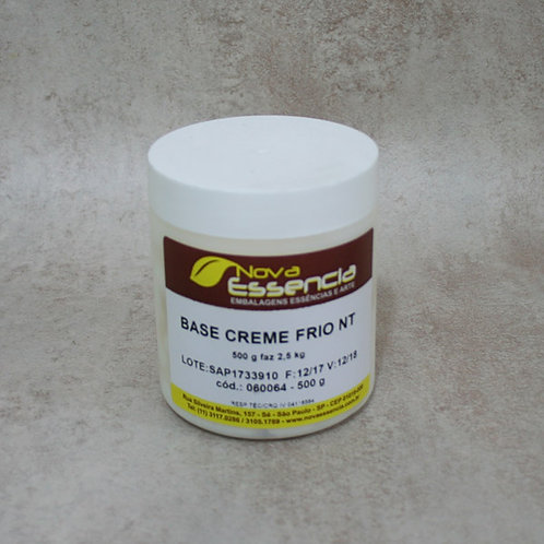 BASE CREME FRIO NT 500GR (FAZ 2,5 KG) 060064