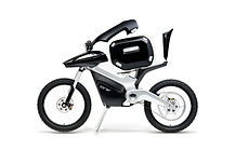 ENV hydrogen fuel cell powered motorcycle