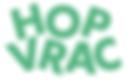 logo HopVrac Drive zéro déchet du canton de Neuchâtel