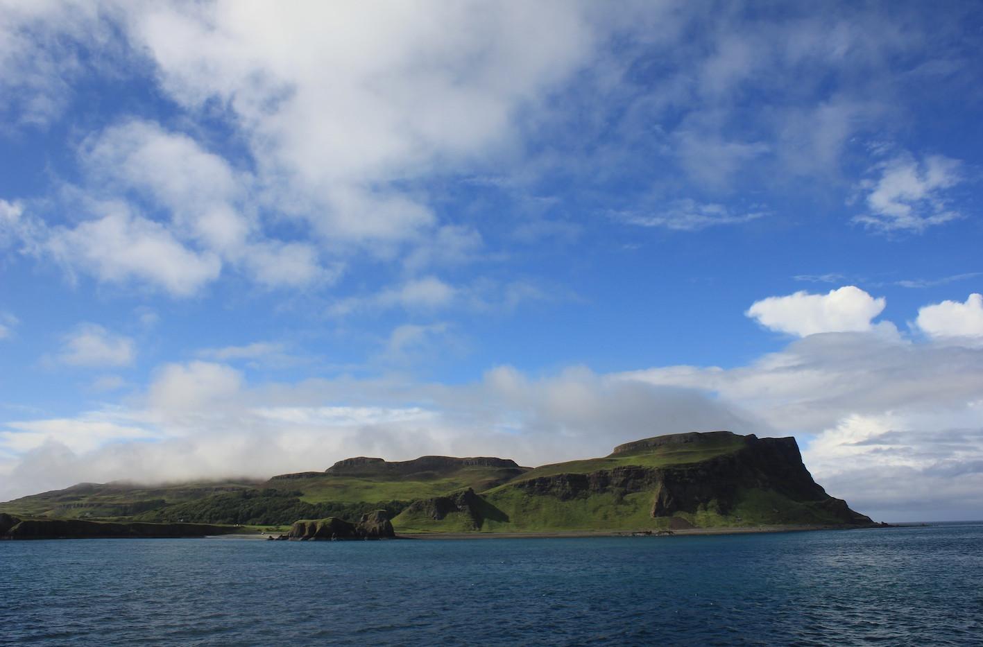 Ferry towards Isle of Canna