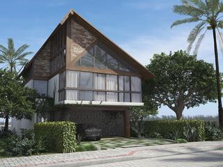 Maquete Eletrônica Casa 04 - Condomínio Blue Lake em Arraial do Cabo - RJ - Arch Progetti