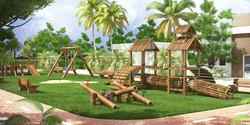 Perspectiva-Ilustrativa-Playground-Royal-Garden-Marica-RJ