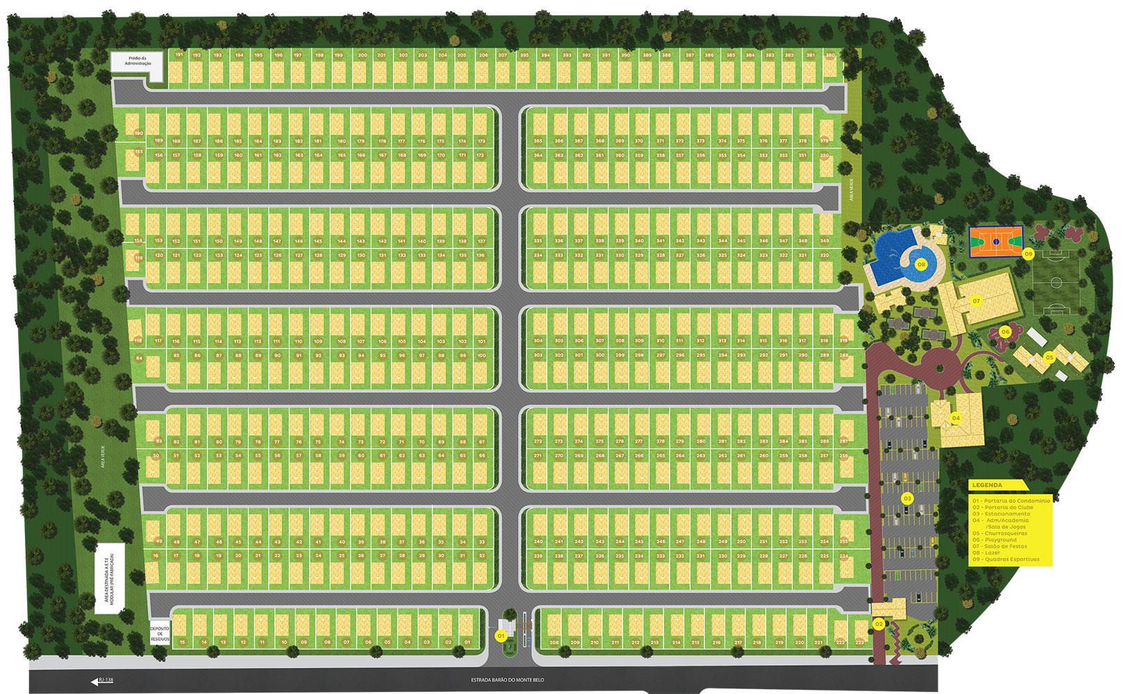 Masterplan-Golden-Park-Araruama-RJ