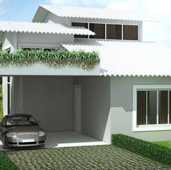 Projeto Casa Modelo 01- Loteamento Aroeiras