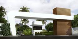 Perspectiva-Ilustrativa-Portaria-Royal-Garden-Marica-RJ