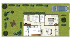 Planta-humanizada-Casa-padrao-Golden-Park-Araruama