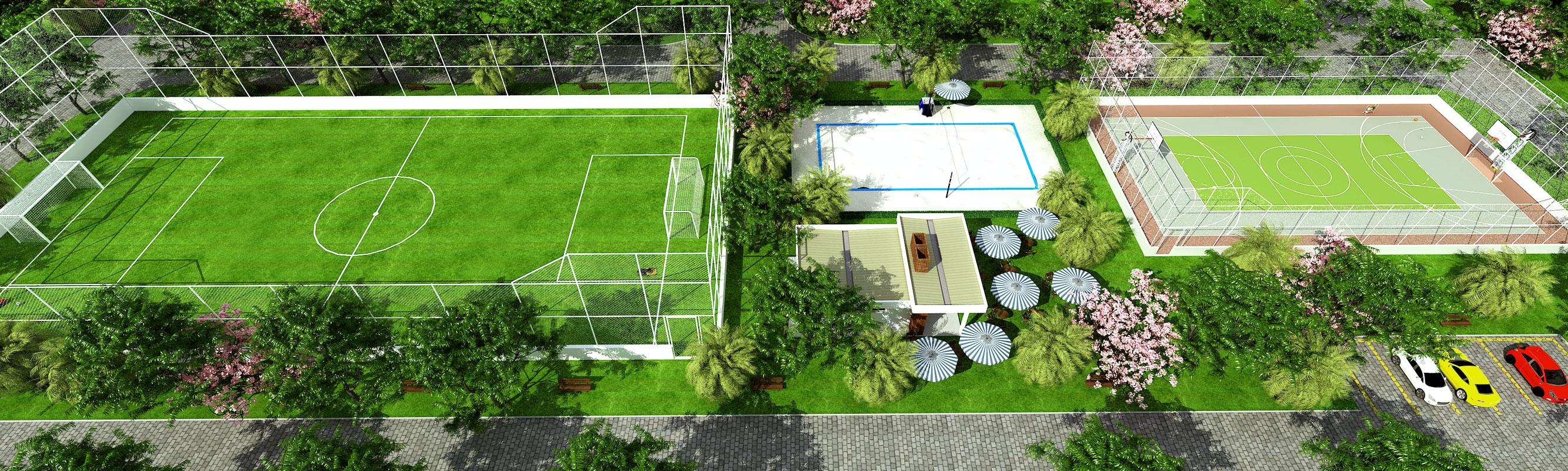 Perspectiva-Ilustrativa-aerea-lazer-02-Royal-Garden-Marica-RJ
