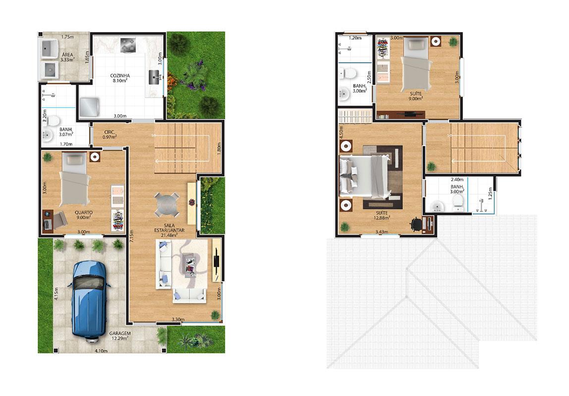 Planta-Humanizada--Casa-04-Royal-Garden-Marica-RJ