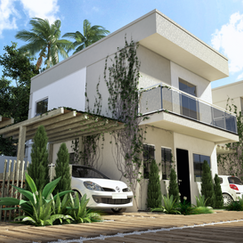 Projeto do Condomínio Vila do Pero- Cabo Frio