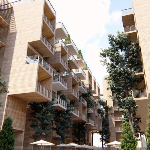 Projeto de Habitação na Glória