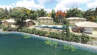 Perspectiva Ilustrativa Hospedagem do Village Haras Morena Resort