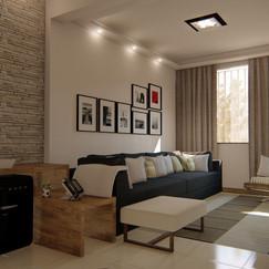 Design de Interiores de estar itaipu