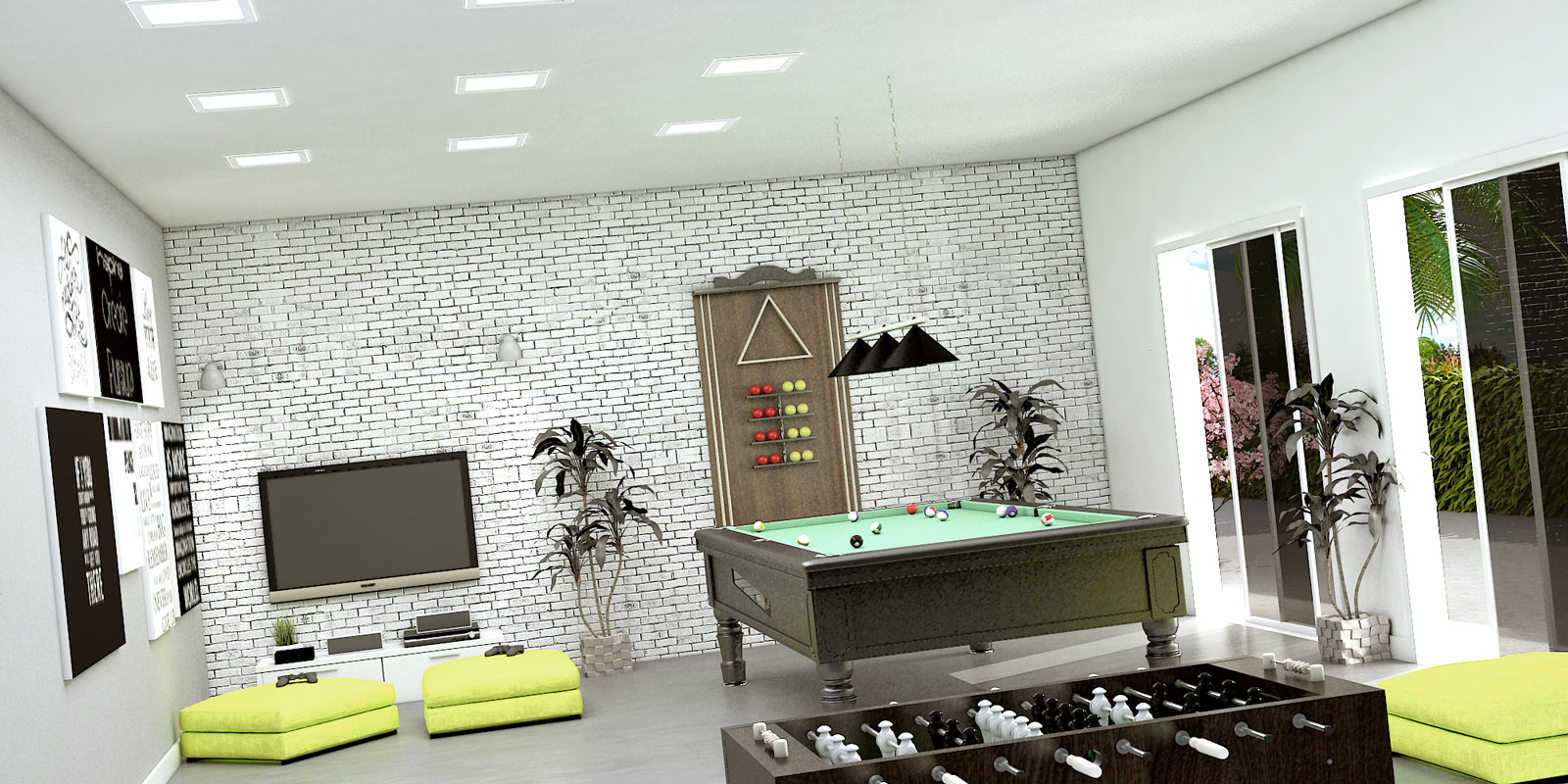 Perspectiva-Ilustrativa-Salao-de-Jogos-Royal-Garden-Marica-RJ