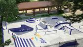 Perspectiva Ilustrativa do SkatePark - Condomínio Blue Lake - Arraial do Cabo
