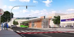 Maquete eletrônica estação BRT em Niteroi