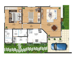 Planta-Humanizada--Casa-02-Royal-Garden-Marica-RJ