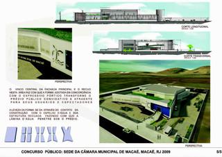 Concurso de Projetos- Câmara municipal de Macaé-RJ Menção Honrosa