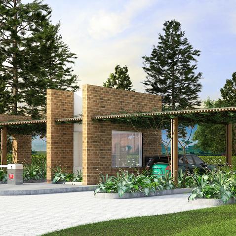 Arquitetura da Portaria Dom Sul