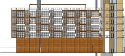 fachada lateral bloco a