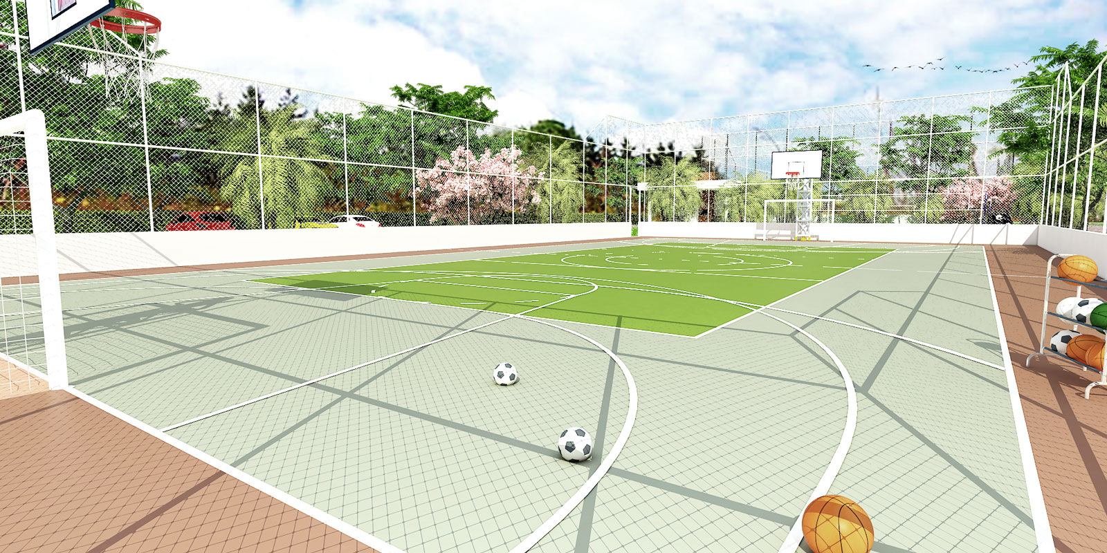 Perspectiva-Ilustrativa-quadra-poliesportiva-Royal-Garden-Marica-RJ