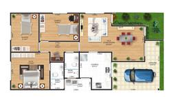 Planta-Humanizada--Casa-03-Royal-Garden-Marica-RJ