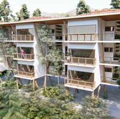 Projeto de Habitação Popular na Lagoa-RJ