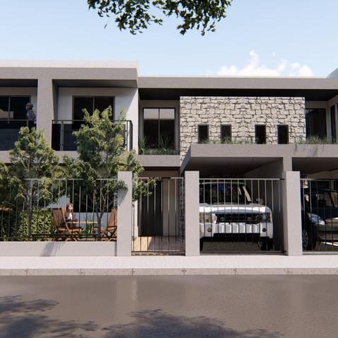 Projeto de casas Geminadas em Nilópolis