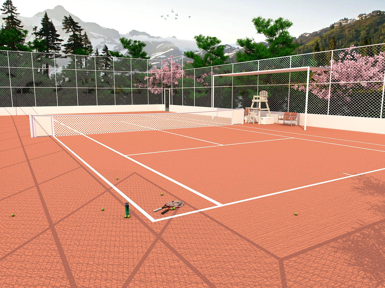 Quadra de Tennis-pos
