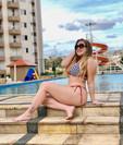 Com 27 kg a mais, Paulinha Leitte lembra loucuras que já fez para perder peso