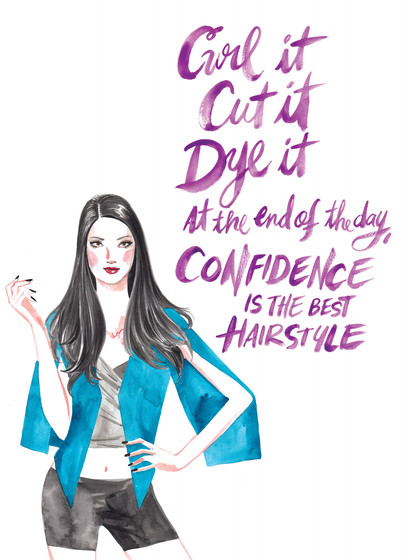 Tresemme Style Journal - Quote