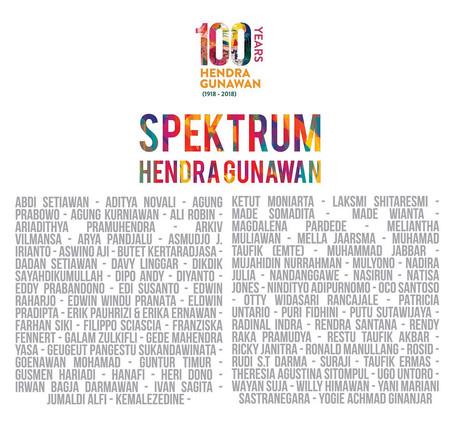 Spektrum Hendra Gunawan