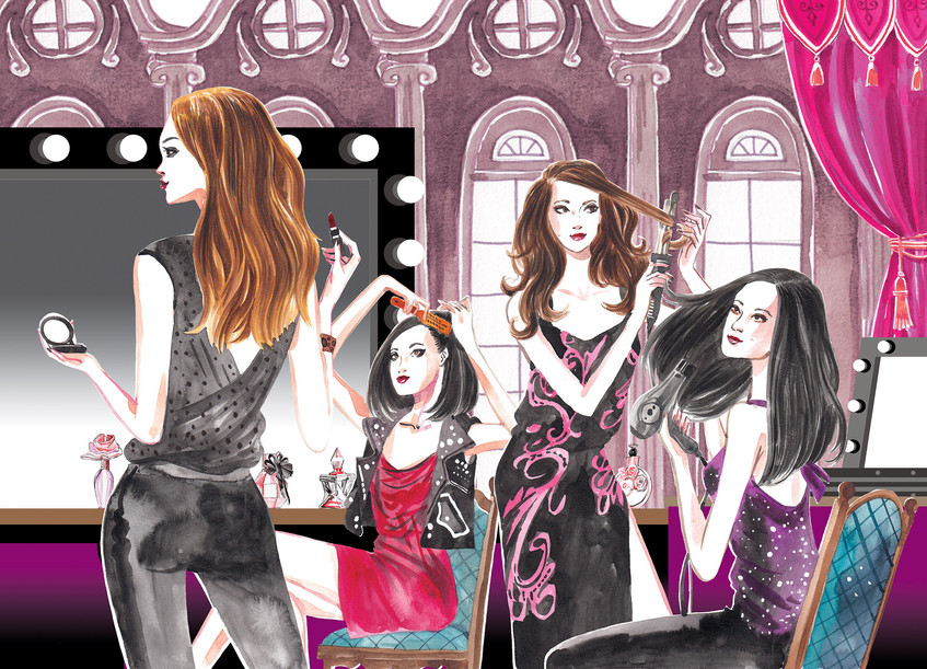 Tresemme Style Journal - The Backstage