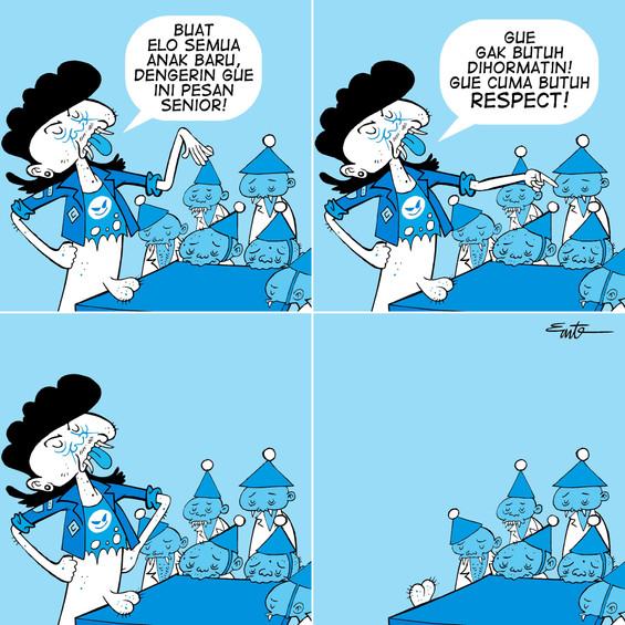 Nyampah #1 - Respect