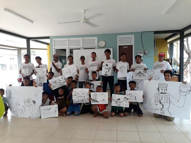 RPTRA Mural Festival & Workshop